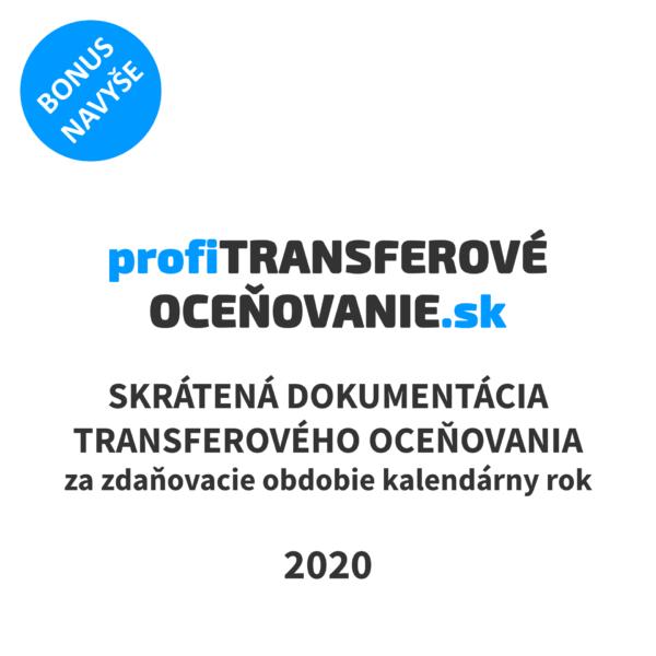 skrátená transferová dokumentácia 2020 vzor
